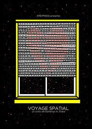 VIAJE ESPACIAL INTERGALACTICO Poster